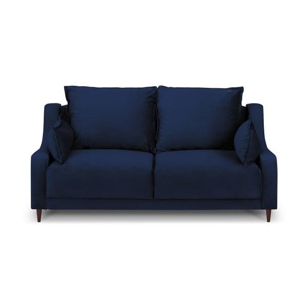 Tmavě modrá dvoumístná pohovka Mazzini Sofas Freesia