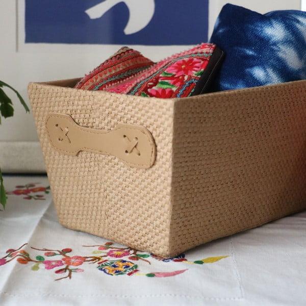 Papírový úložný box Compactor Beverly