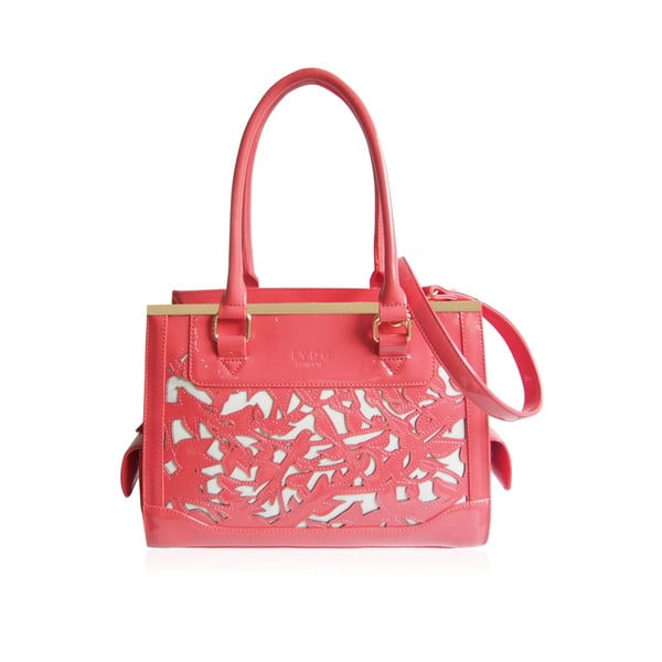 Kabelka LYDC L7702 Coral and White