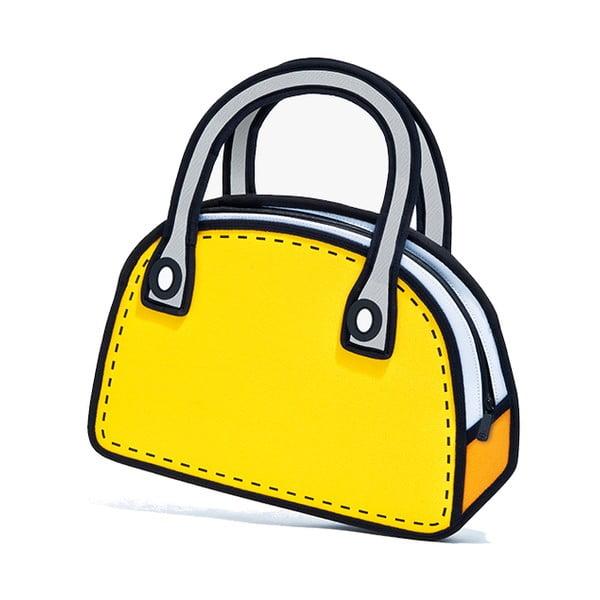 Komiksová taška Carly Sweetie Yellow