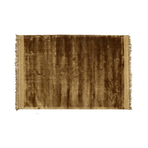 Hnědý přírodní koberec BePureHome Honey, 170 x 240 cm