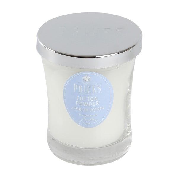 Vonná svíčka Prices Nádech hebké bavlny, 45 hodin hoření