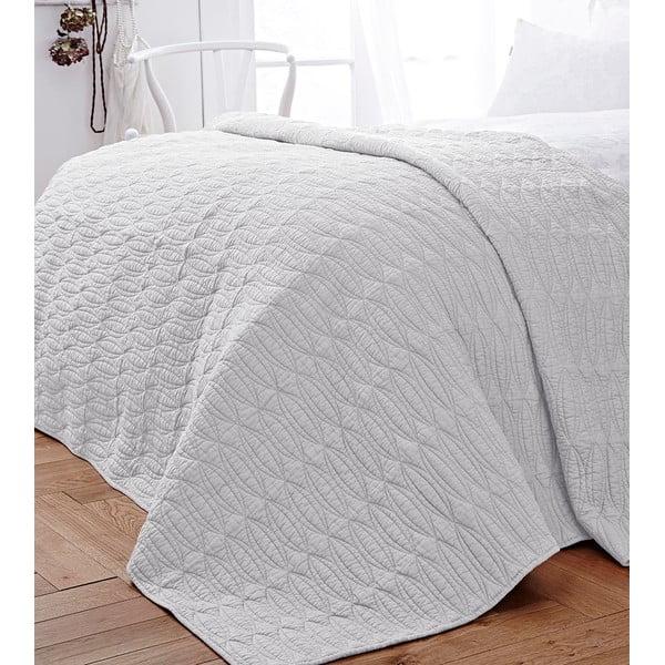 Bílý přehoz přes postel Bianca Simplicity, 200x200cm