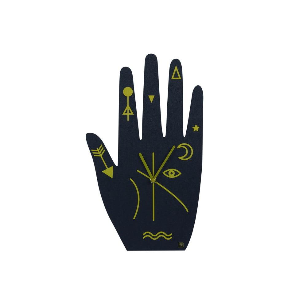 Nástěnné hodiny DOIY Mystic Time Hand, 21,2 x 39,5 cm