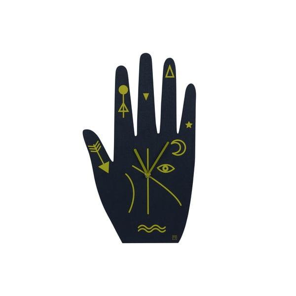 Ceas de perete DOIY Mystic Time Hand, 21,2 x 39,5 cm