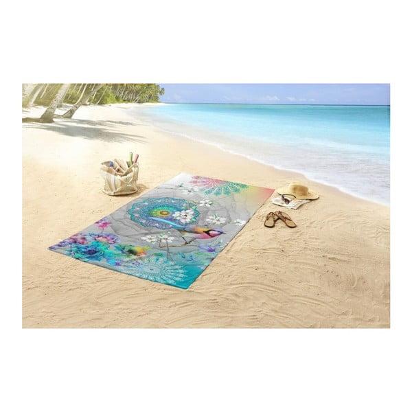Plážová osuška s potiskem HIP Adele, 100 x 180 cm