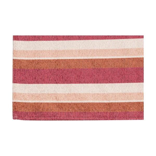 Vysoce odolný kuchyňský koberec Webtappeti Stripes Multi, 60x220 cm