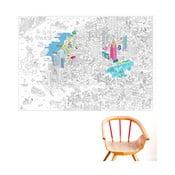 Planșă de colorat OMY NYC (70x100cm)