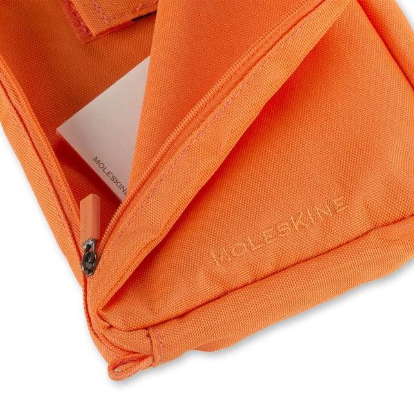 Univerzální kapsička Moleskine 23x17 cm, oranžová