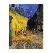 Obraz Vincenta van Gogha - Cafe Terrace, 40x30 cm