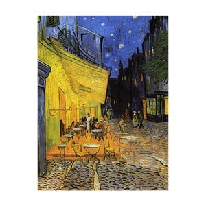 Tablou Vincent van Gogh - Cafe Terrace, 80x60 cm