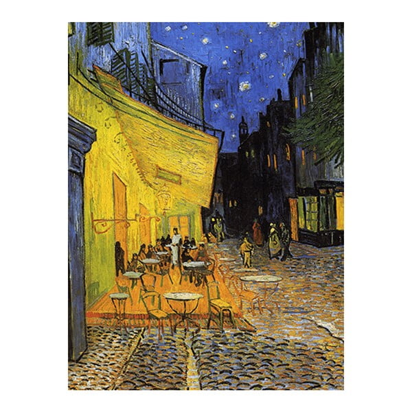 Tablou  Vincent van Gogh - Cafe Terrace, 60x45 cm