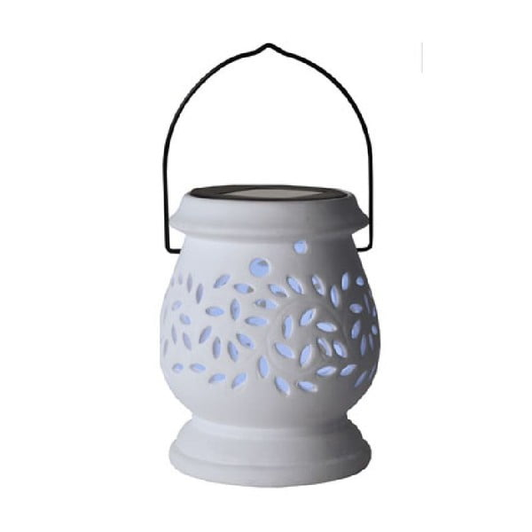 Bílá LED lucerna Best Season Clay