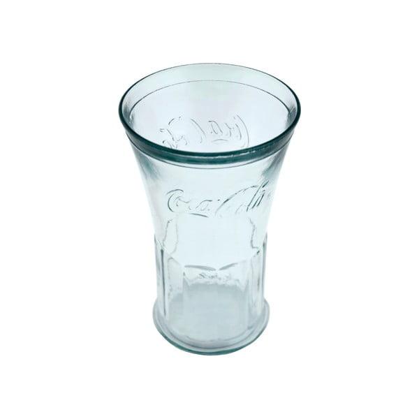 Sklenice z recyklovaného skla Ego Dekor Coca Cola, 450 ml