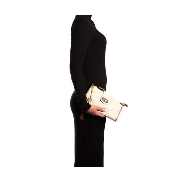 Kožená kabelka Isabella Rhea 2024, béžová