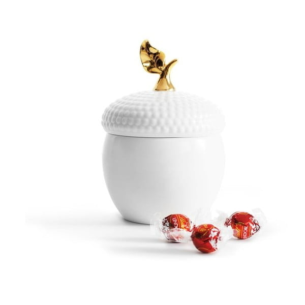 Porcelánová dóza s víkem Sagaform Acorn