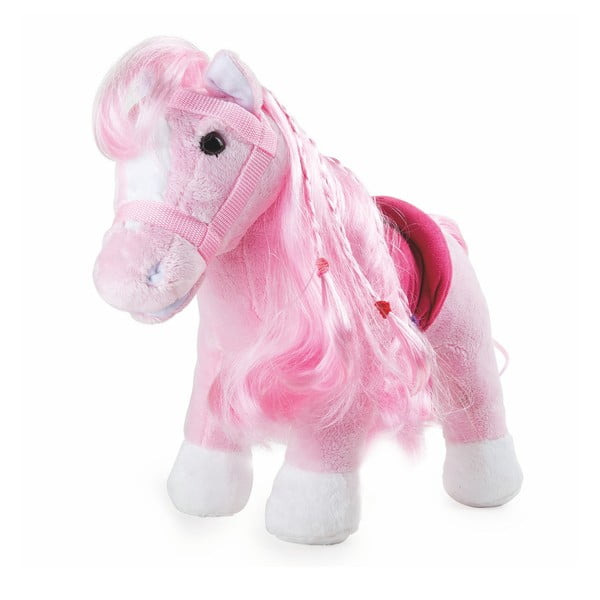 Růžový poník Legler Cuddly