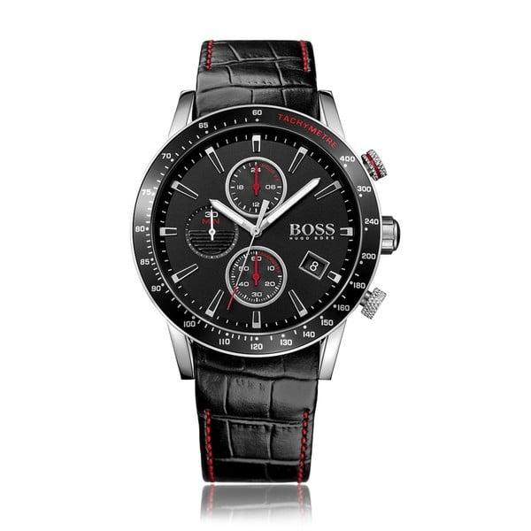 Pánské hodinky s koženým řemínkem Hugo Boss Johnathan