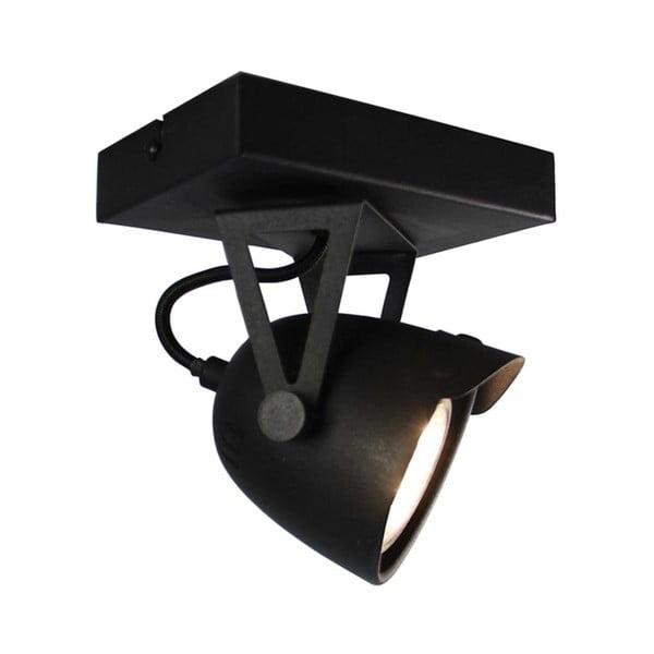 Černé nástěnné svítidlo LABEL51 Spot Moto Cap Uno