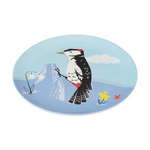 Melaminový talíř Rex London Woodpecker