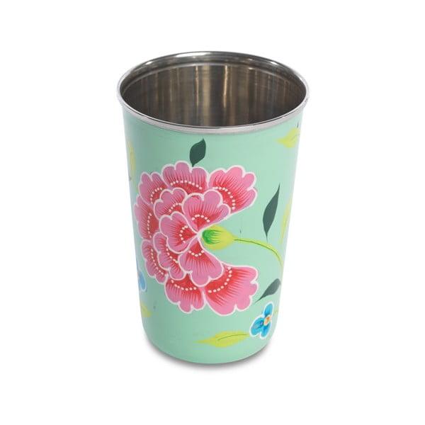 Hrnek Franjipani Floral Cup, zelený