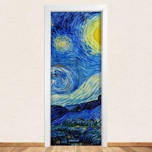 Samolepka na dveře LineArtistica Notte Stellata, 80 x 215 cm