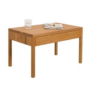 Noční stolek z dubového dřeva Ellenberger design Alex