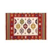 Ručně tkaný koberec Kilim Dalush 010, 90x60 cm