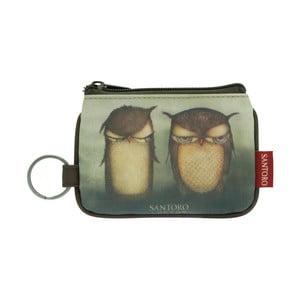 Klíčenka Santoro London Grumpy Owl