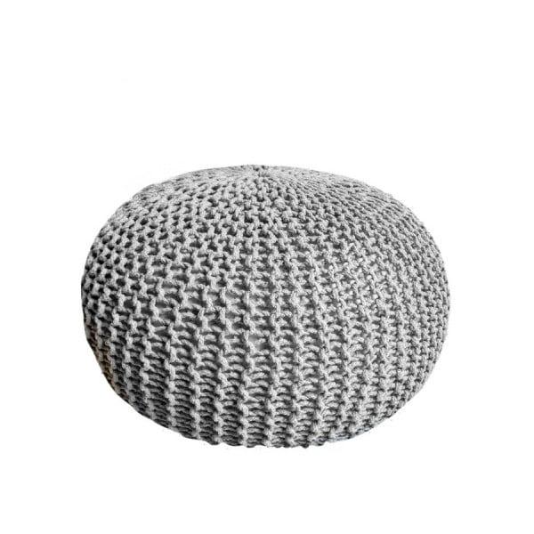 Dedalo szürke puff, ⌀ 45 cm
