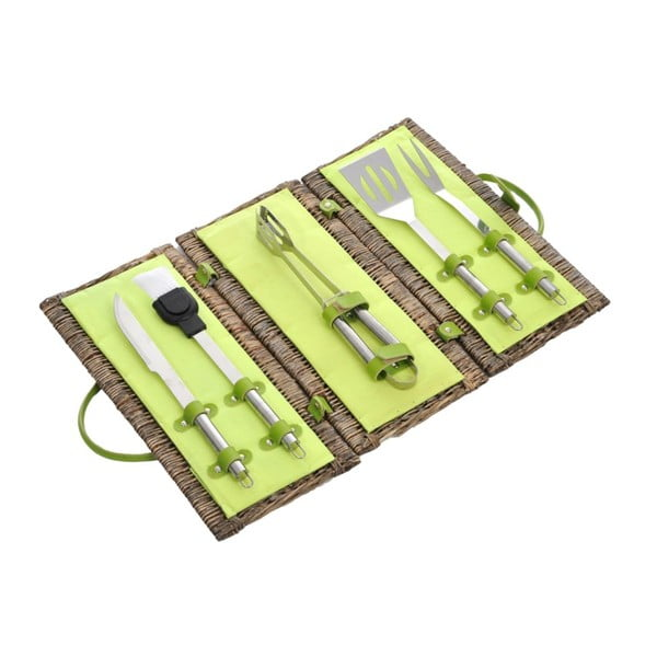 BBQ sada Willow Green, 44x22x22 cm