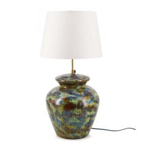 Zelená terakotová stolní lampa Moycor Cooper, 65 cm