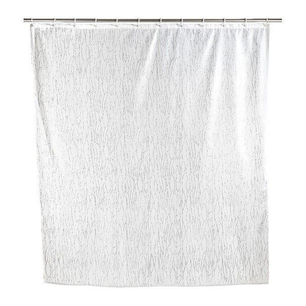 Perdea duș Wenko Deluxe, alb