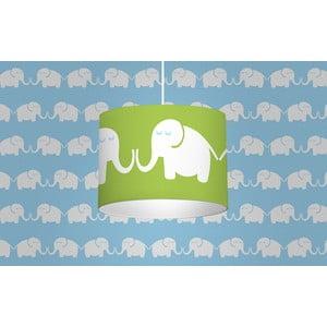 Svítidlo Elephants, zelené