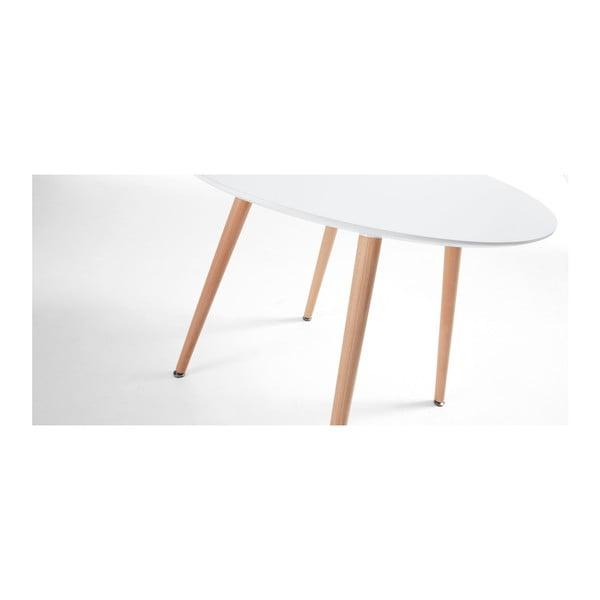 Jídelní stůl z bukového dřeva La Forma Daw, 73x100cm