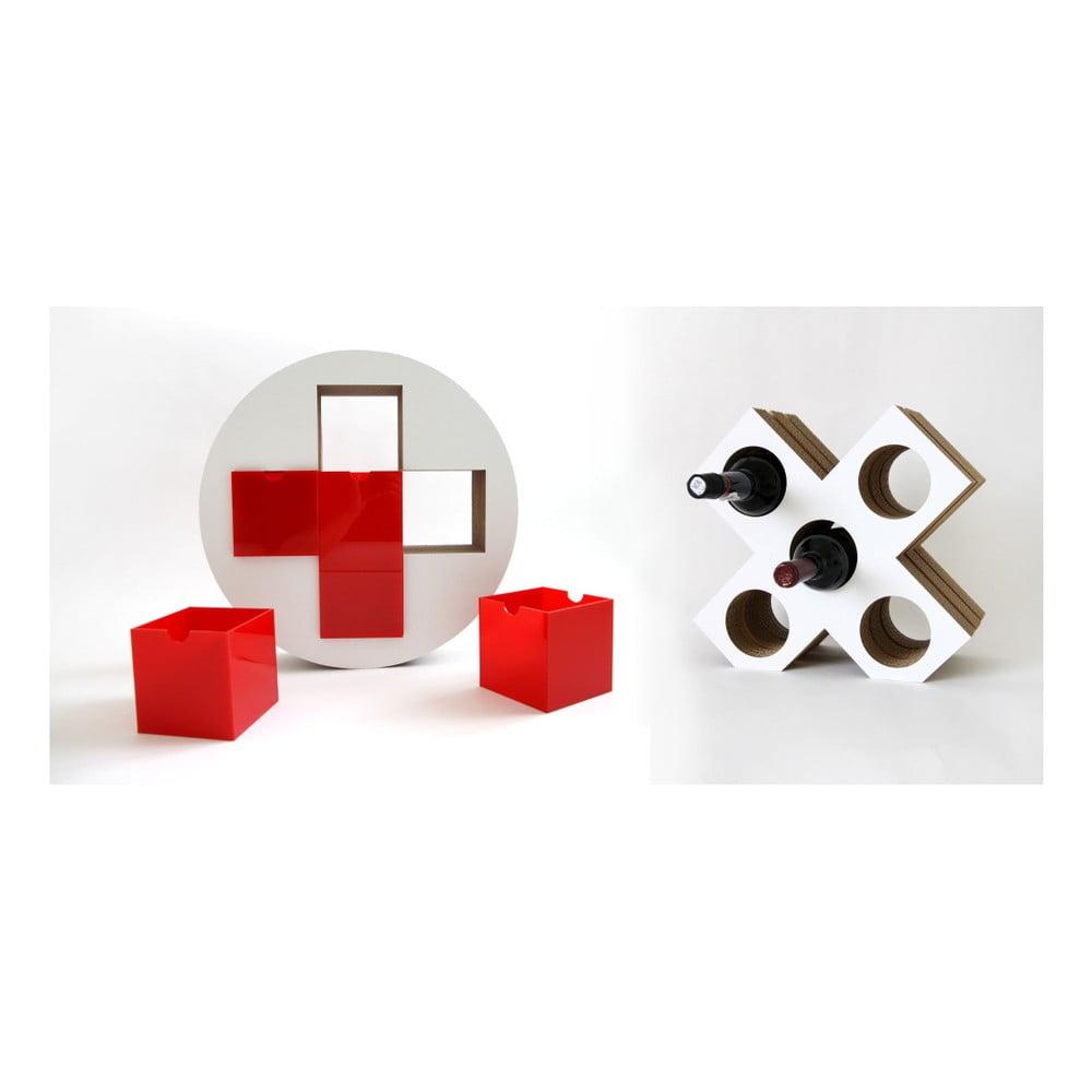 Set červené lékárničky a vinotéky Unlimited Design For Children