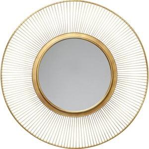 Oglindă de perete Kare Design un Storm, Ø 93 cm