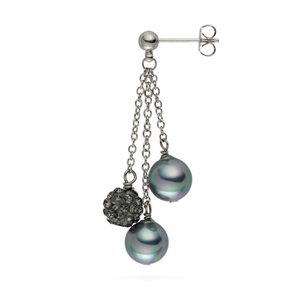 Cercei cu perlă Nova Pearls Copenhagen Annie Grey