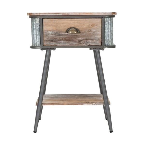 Noční stolek Mauro Ferretti Bronx, výška63,5cm