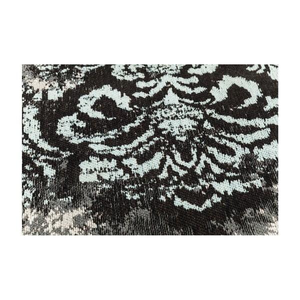 Covor Kare Design Kelim Ornament Turquise, 200 x 140 cm