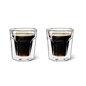 Sada 2 dvoustěnných sklenic Bredemeijer Espresso, 100 ml