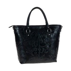 Černá kožená kabelka Tina Panicucci Rumla