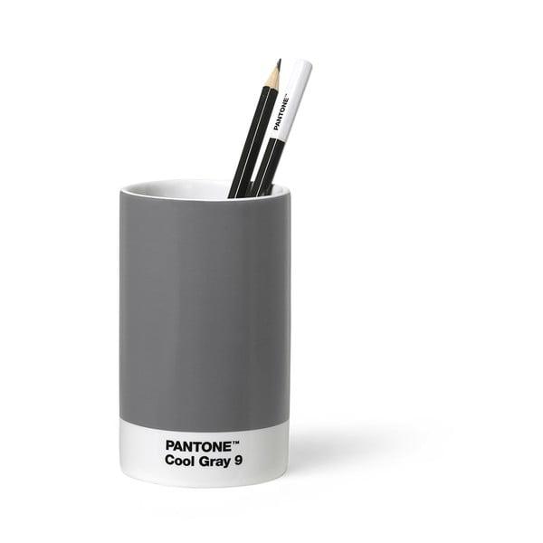 Sivý keramický stojan na ceruzky Pantone
