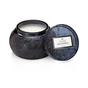 Lumânare parfumată Voluspa, aromă de bambus, mosc negru și chiparos japonez, 100 ore