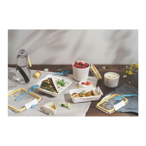 Cutie pentru gustări Black + Blum Appetit, 880 ml, auriu