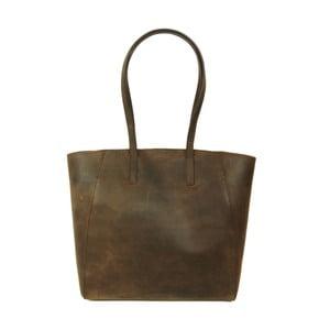 Kožená kabelka Jazzy Jess, hnědá