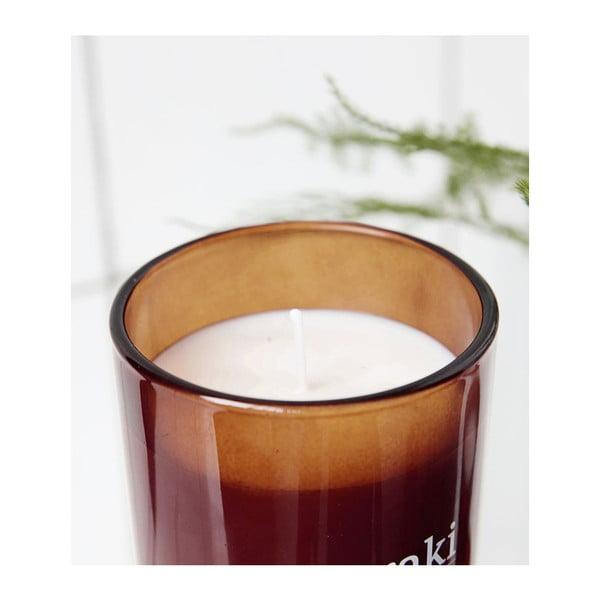 Lumânare parfumată organică Meraki, 35 ore, miros floral