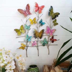 Nástěnná dekorace Butterflies Pannel