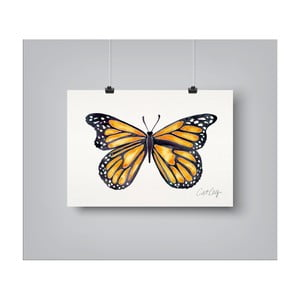 Poster Americanflat Monarch, 30 x 42 cm