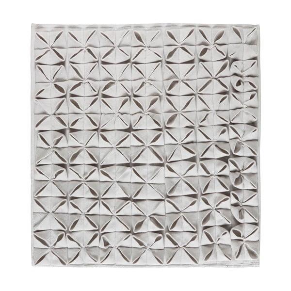 Koupelnová předložka Origami 60x60 cm, šedá